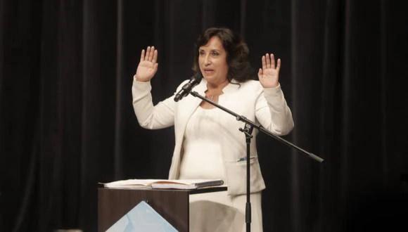 Dina Boluarte afirma que debilidades en Perú Libre se debe a que no  tuvieron un equipo de media training que los prepare   nndc   PERU   GESTIÓN