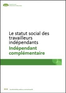 Statut social des travailleurs indépendants: Indépendant complémentaire
