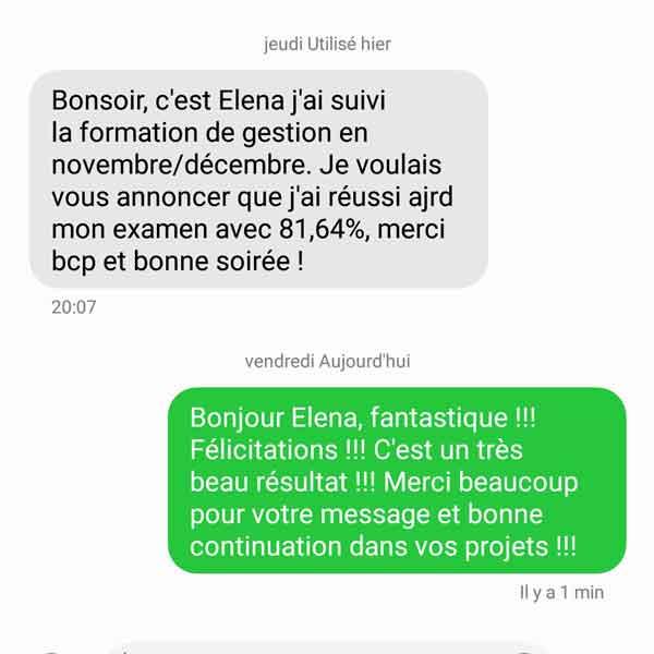 Témoignage Elena