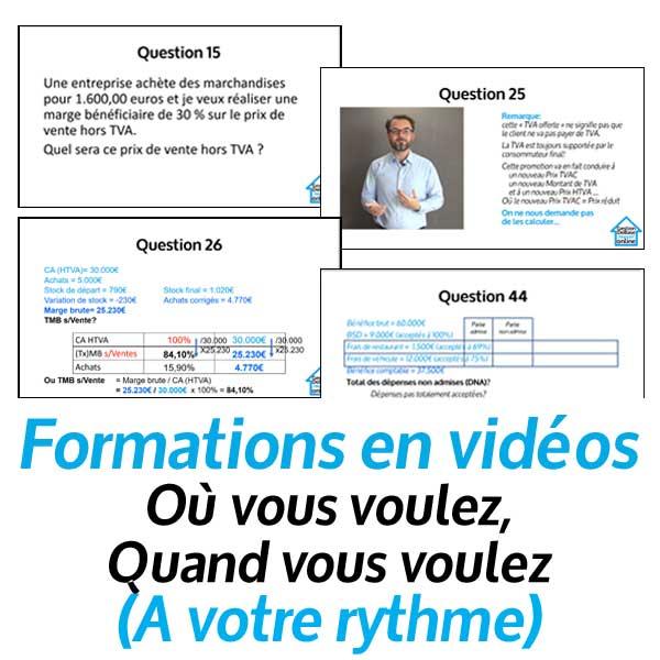 Comparez les formations en vidéos