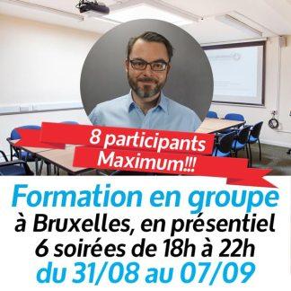Formation en Gestion de base en Groupe - Aou2020-Bruxelles