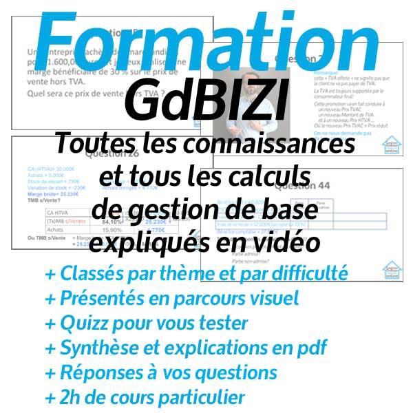Formation en gestion de base GDBizi