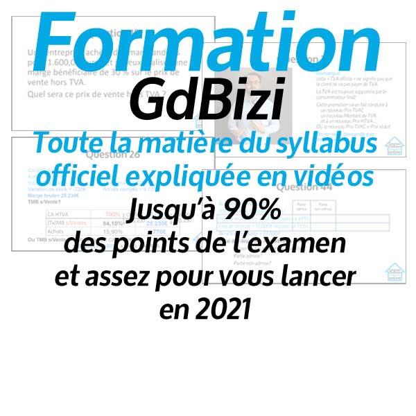 Formation gestion en ligne GdBizi