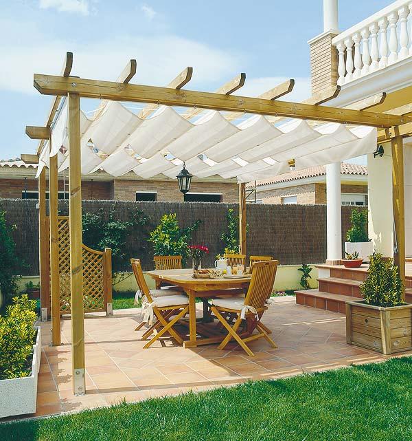 Prgolas y toldos para la terraza o el porche  Gestin