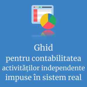 Contabilitate PFA in sistem real