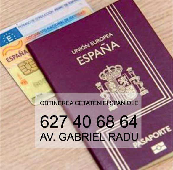 Avocat Roman in Madrid te ajuta sa obtii cetatenia spaniola