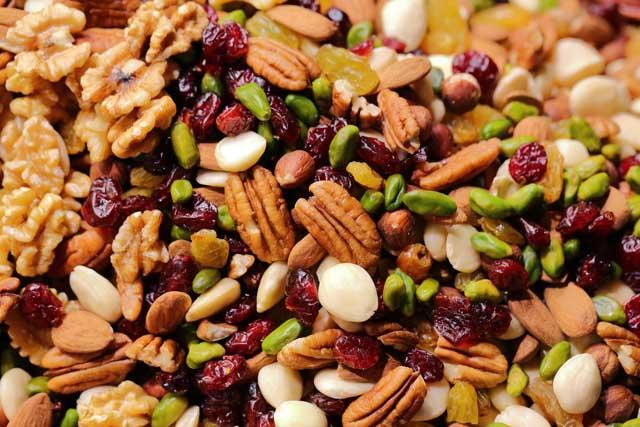 Nüsse - gesund und lecker