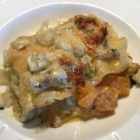Kürbis-Fenchel-Lasagne