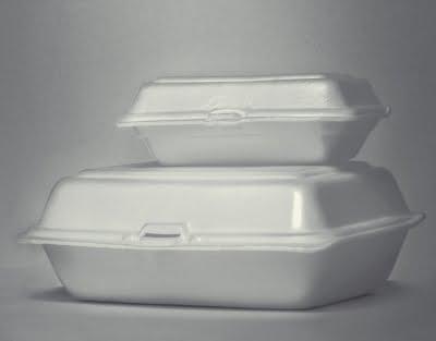 Ways to reuse styrofoam