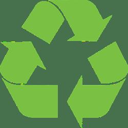 symbole recyclé pour réduire notre empreinte écologique