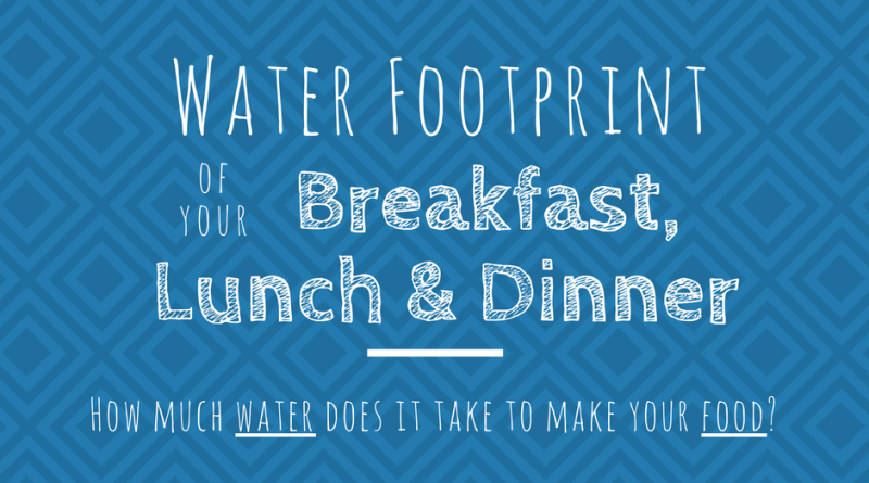 Water Footprint Of Food Header Image