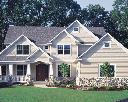 had the vinyl siding painted however it will give you a good idea of. Black Bedroom Furniture Sets. Home Design Ideas