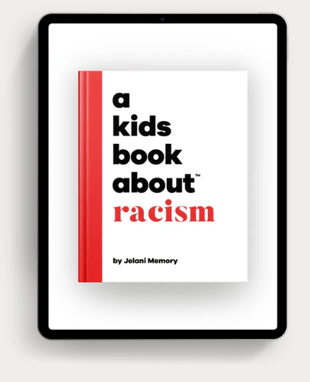 The cover image of a kid's book about racism