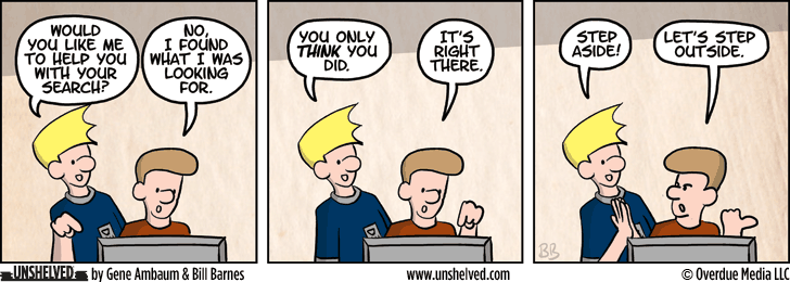 Unshelved strip for 5/28/2014