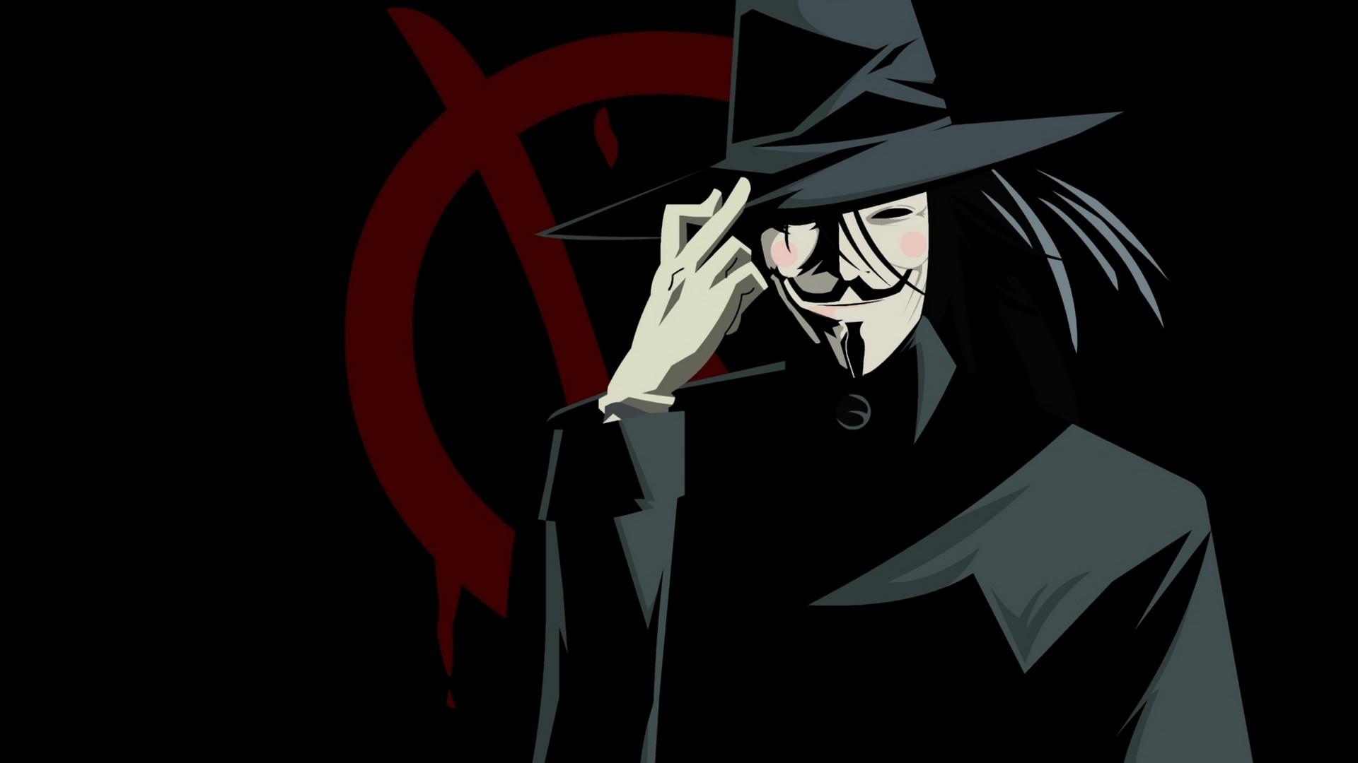 V For Vendetta Wallpaper Quotes Wallpaper 1920x1080 Px Anonymous Artwork V For