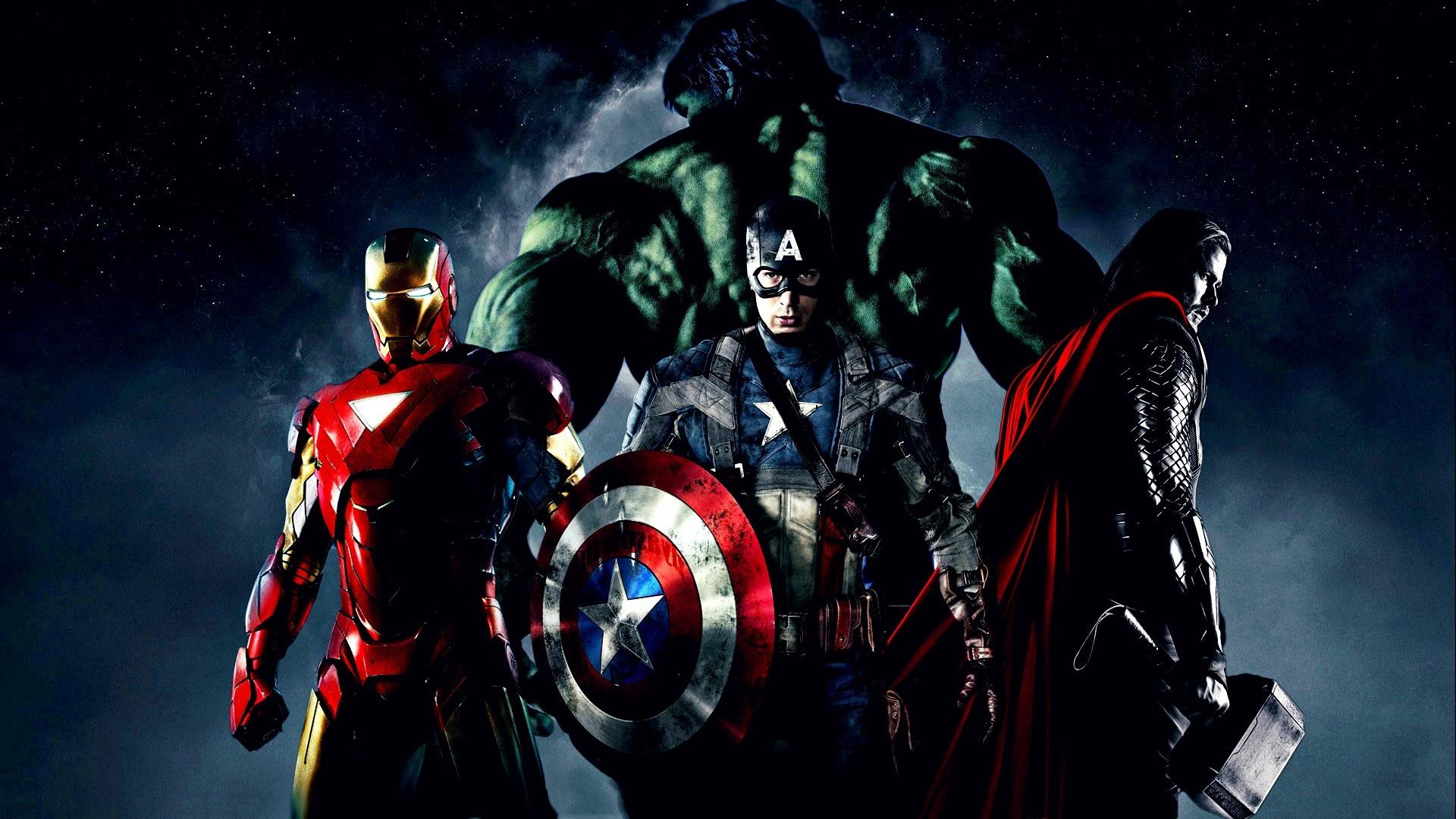 wallpaper 1920x1080 px avengers