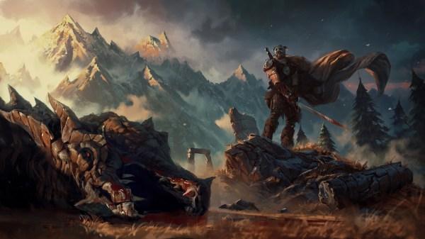 Wallpaper 1920x1080 Px Artwork Fantasy Art Elder Scrolls Skyrim Video Games