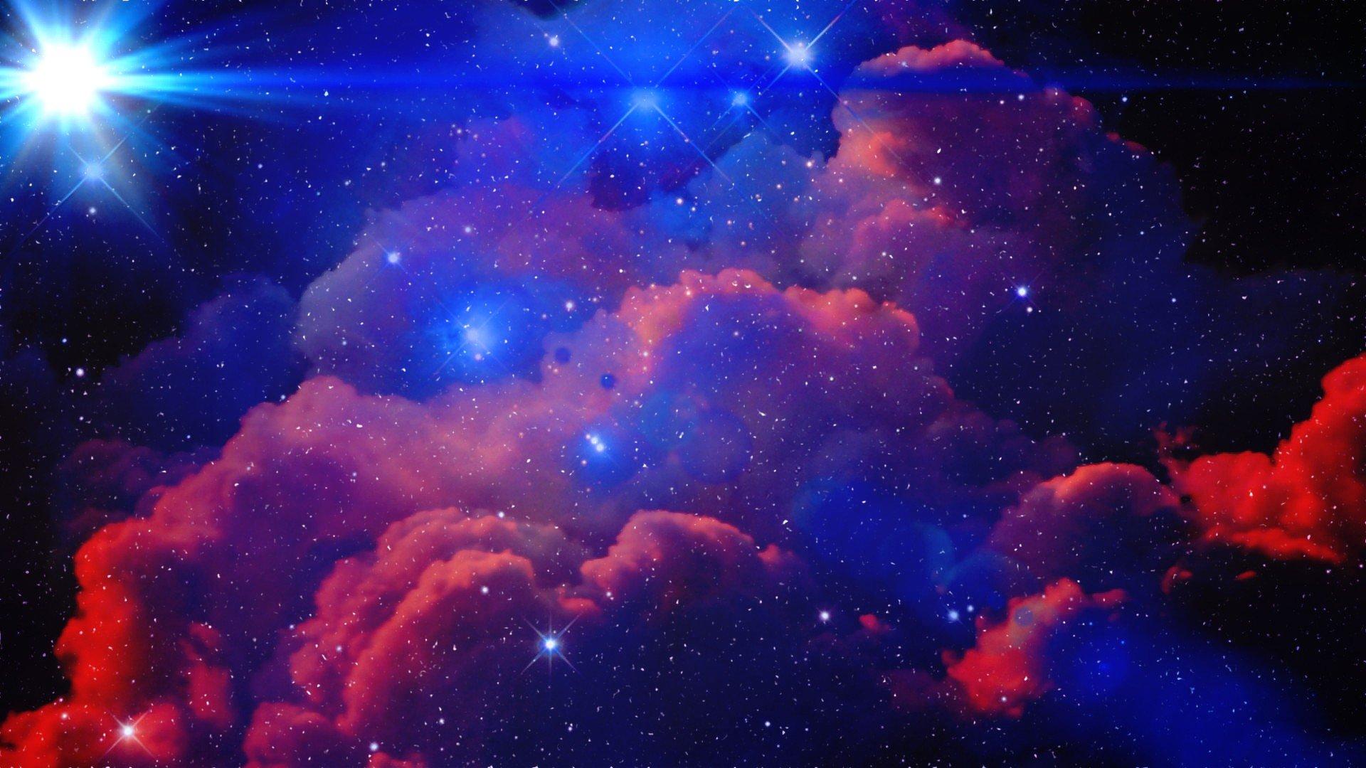 wallpaper 1920x1080 px clouds