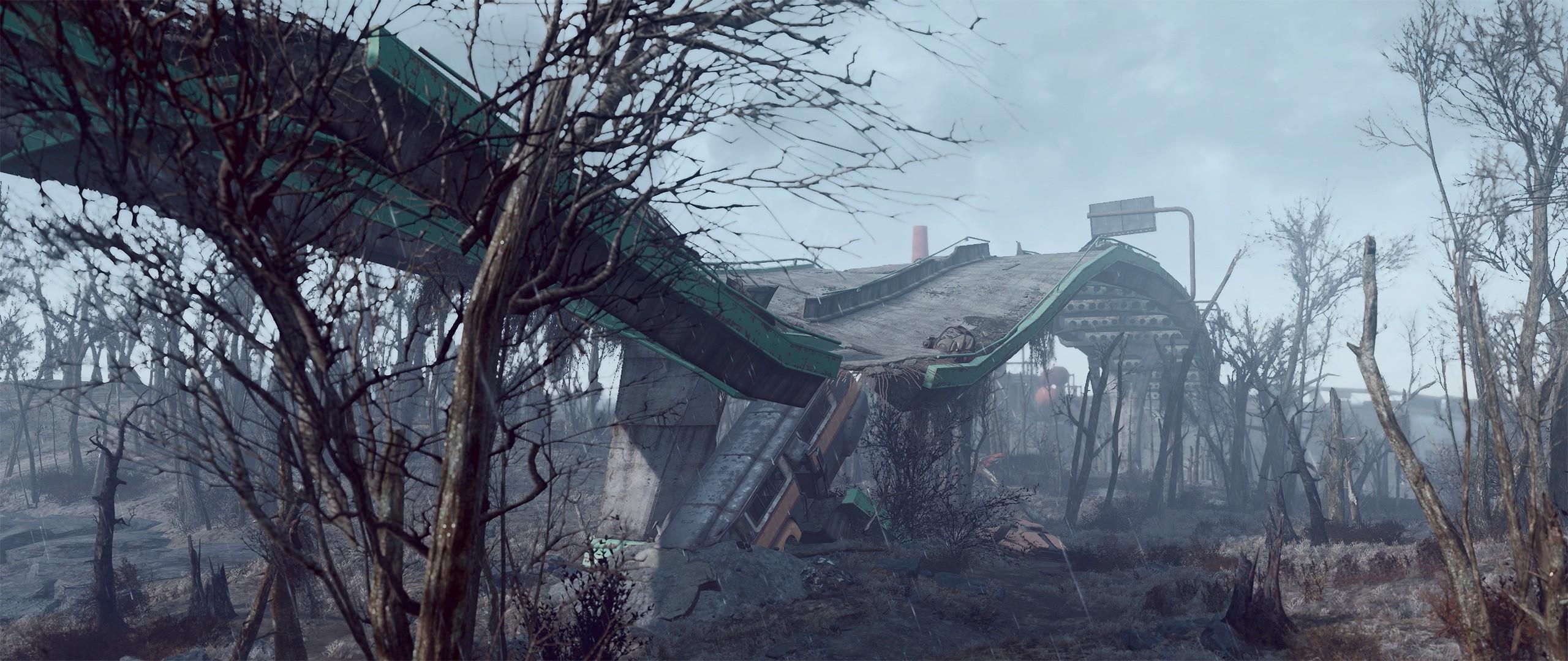 Wallpaper 2560x1080 Px Fallout 4 Video Games 2560x1080