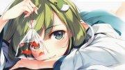 3473x1954 px anime