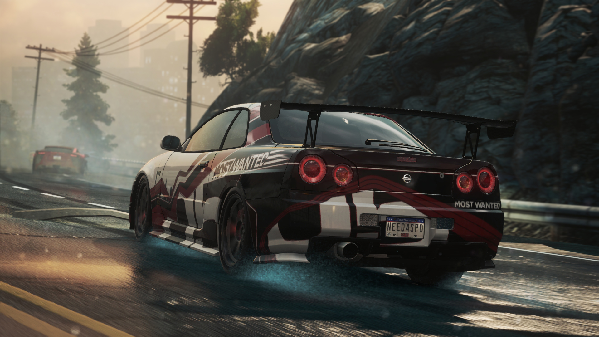 Nfs Most Wanted 2012 Cars Wallpapers Wallpaper Need For Speed Nissan Skyline Gt R Most