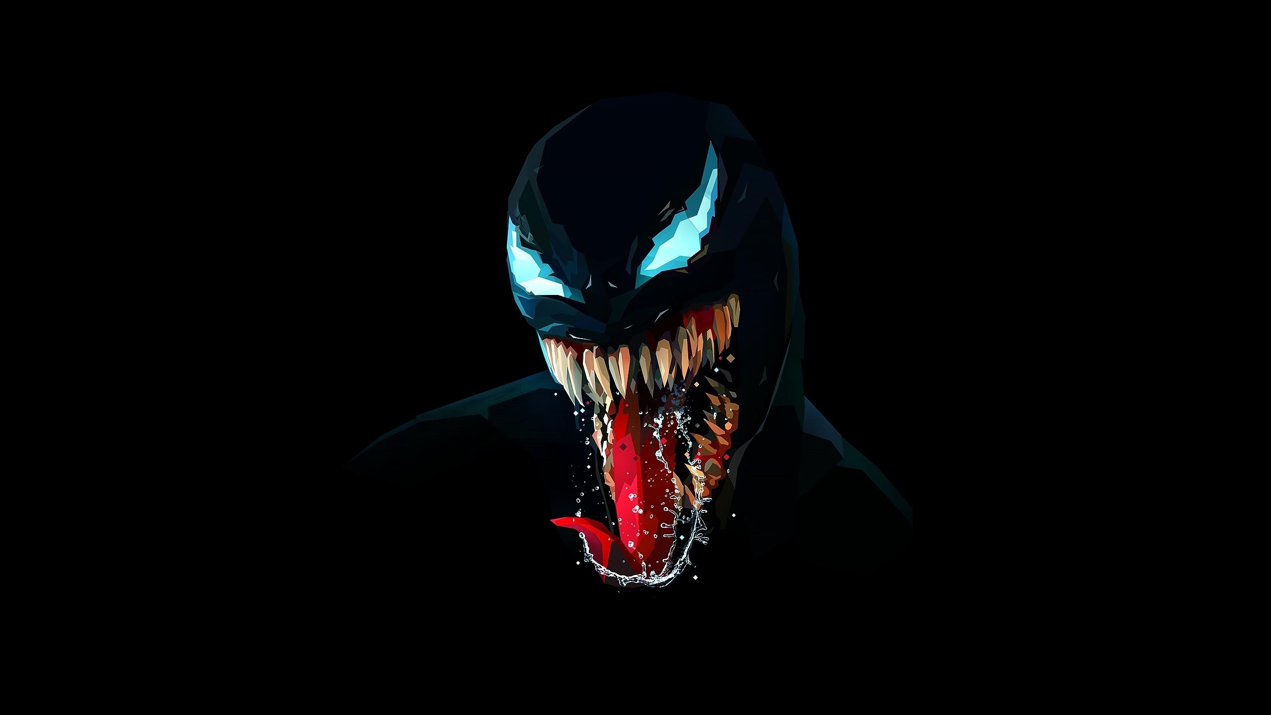 21 9 Pubg Wallpaper Wallpaper Venom Dark 2560x1440 Theallstar 1467527