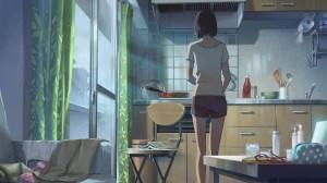 garden words anime shinkai makoto window interior screenshot wallpapers covering px ending wallhere ever