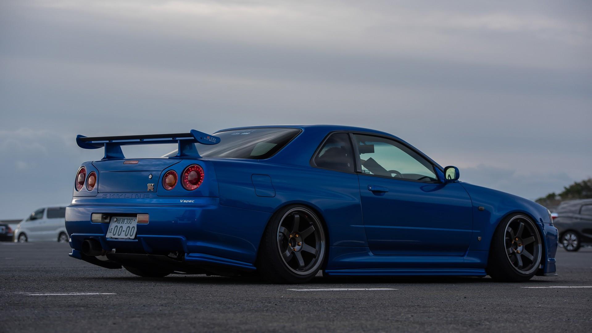 hight resolution of wallpaper blue cars skyline honda jdm wheels sports car nissan skyline stance performance car skyline r34 camber nissan skyline gt r r34 nismo