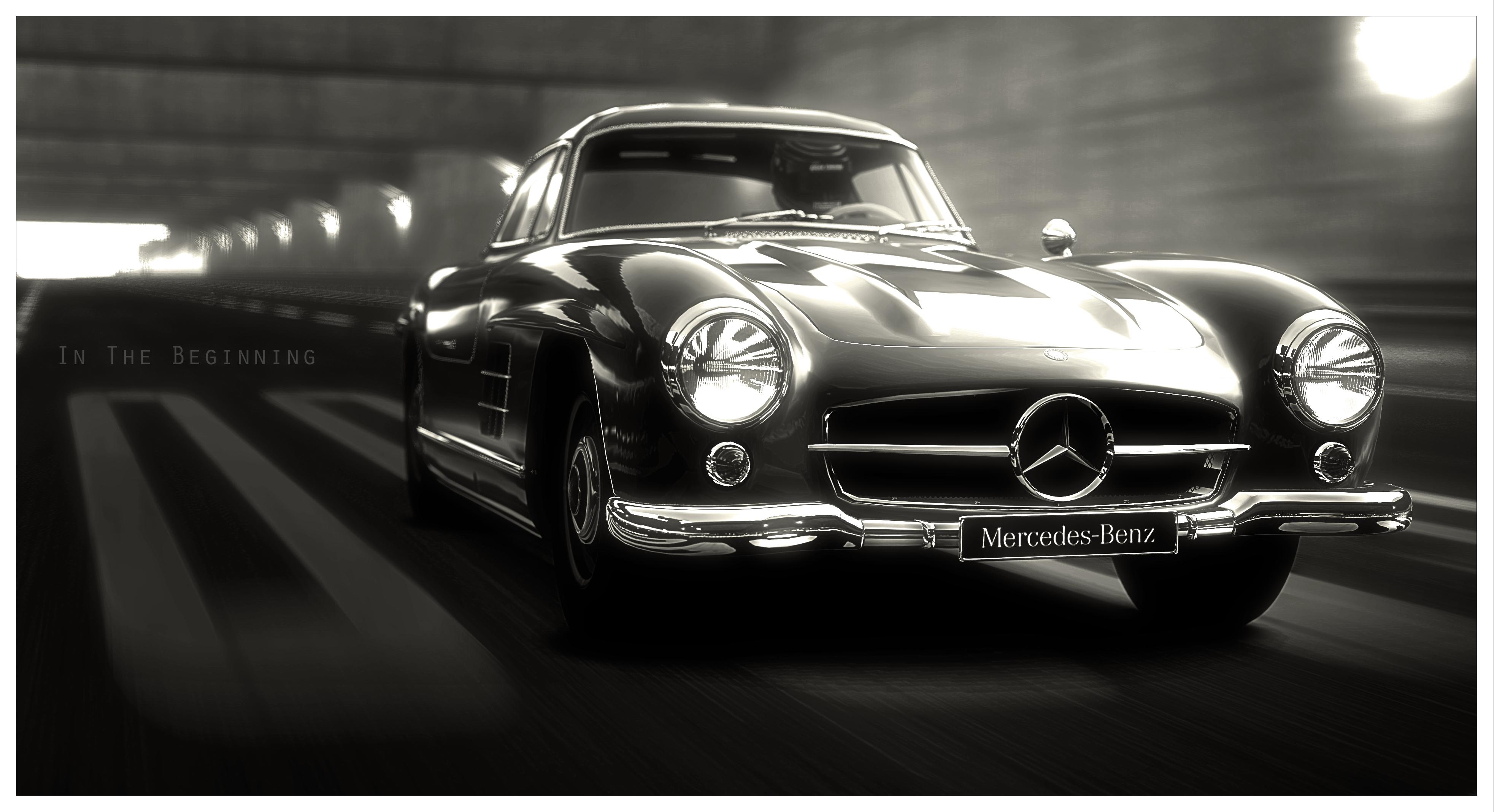 50s Classic Cars Wallpaper Wallpaper Mercedes Benz Sports Car Brand Classic Car