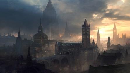 Wallpaper : castle artwork clouds fantasy city sunlight dark 1920x1080 zod000 1551229 HD Wallpapers WallHere