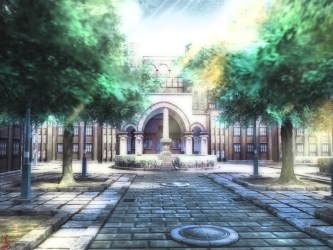 anime mansion courtyard place hd wallpapers area worship estate residential property chapel screenshot cg definition wallhere castle