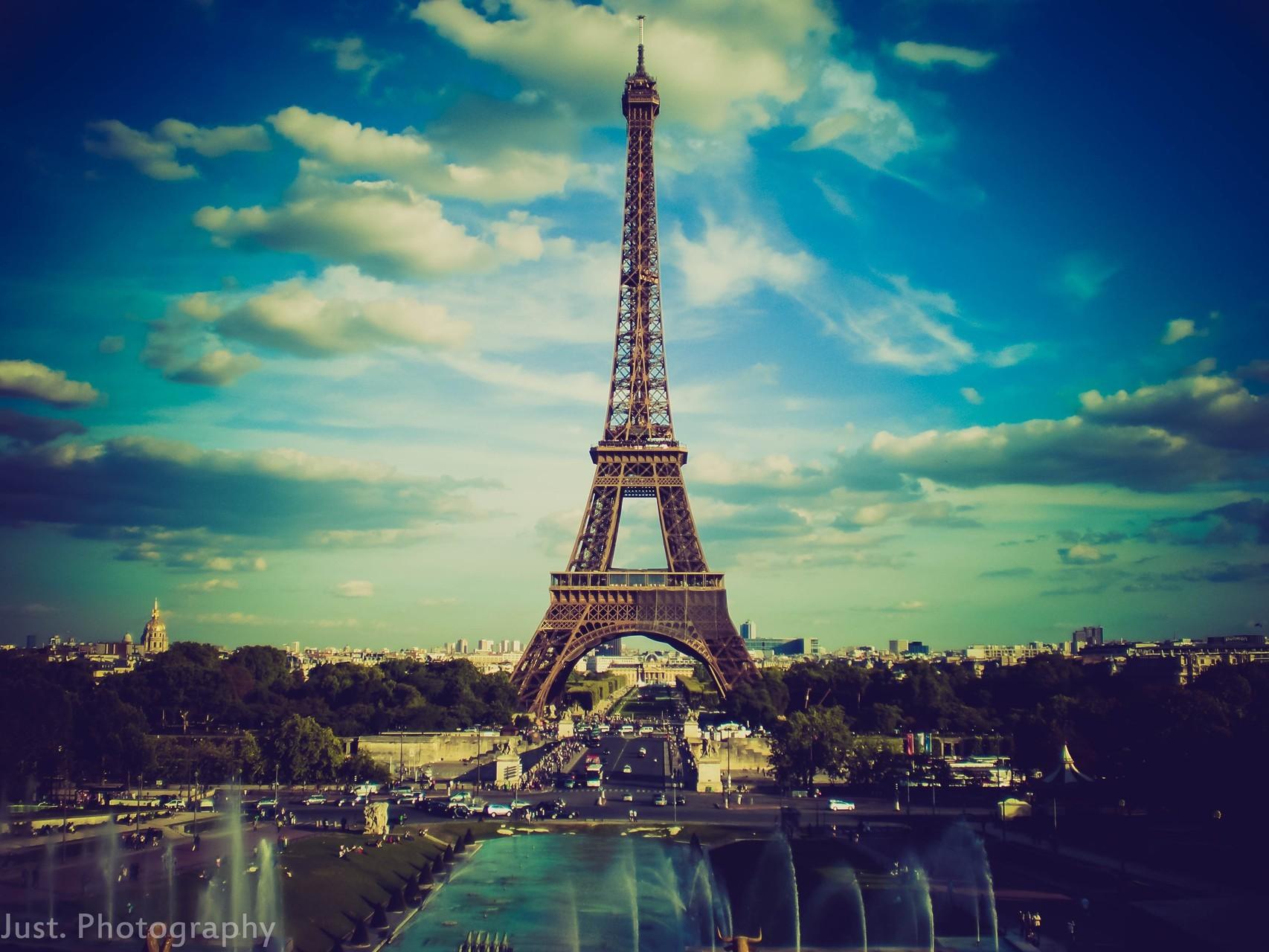 Cute Eiffel Tower Wallpaper For Iphone Fondos De Pantalla Ciudad Paisaje Urbano Noche