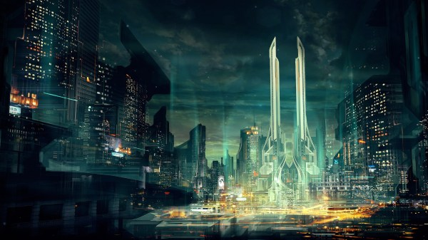 Future Futuristic City Art