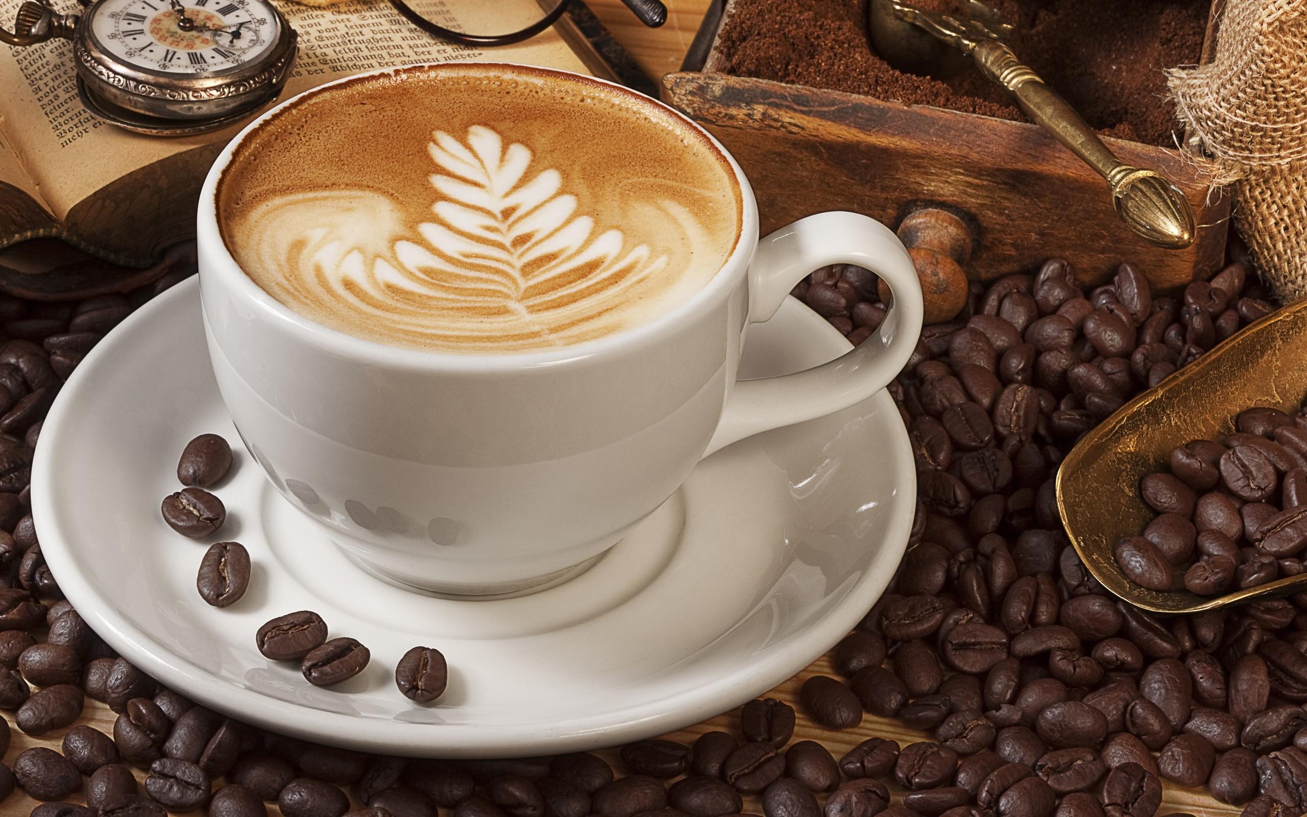 wallpaper drink coffee beans