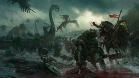 Wallpaper : dark fantasy battle creature artwork fantasy art 1920x1080 WallpaperManiac 1555317 HD Wallpapers WallHere