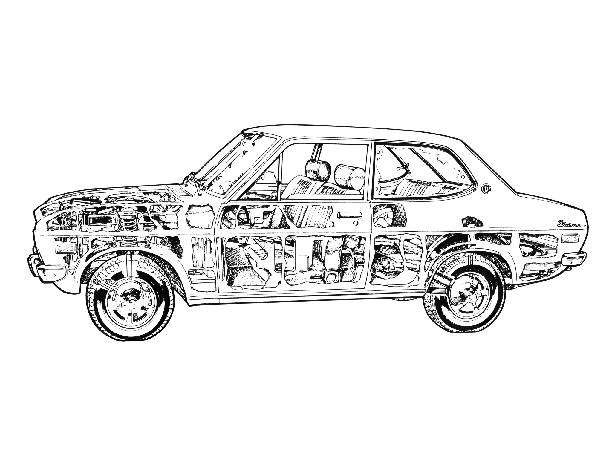 Fondos de pantalla : dibujo, vehículo, arte lineal