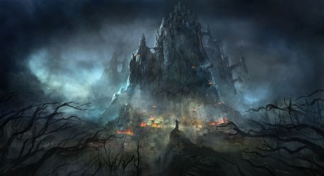castle dark deviantart fantasy ghost darkness space artwork thunder outer computer fortress atmosphere atmospheric phenomenon wallpapers citadel wallhere geological ship