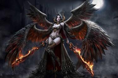 Wallpaper : fantasy art dark fantasy fantasy girl demon Jungmin Jin 1920x1280 WallpaperManiac 1465493 HD Wallpapers WallHere