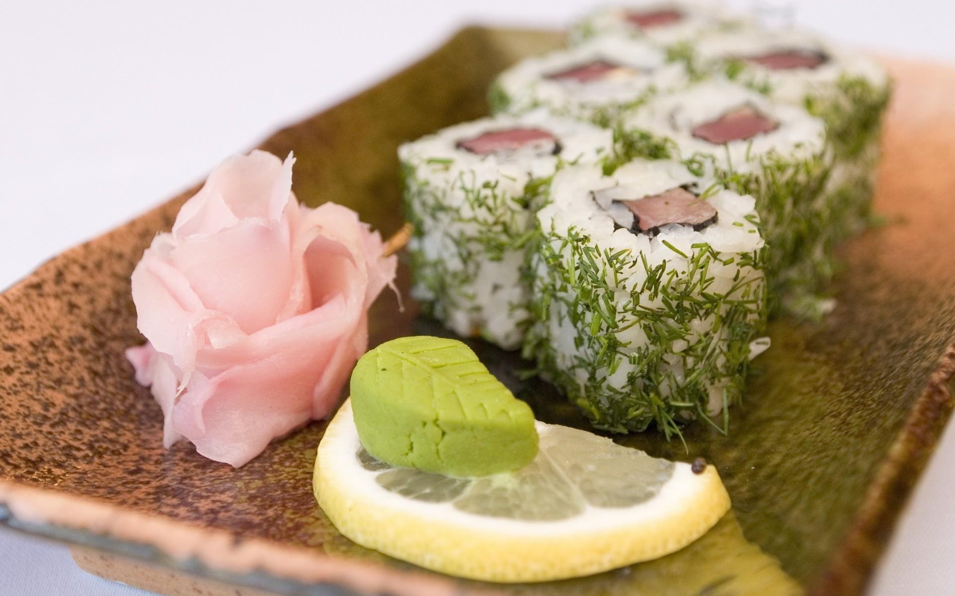Fondos de pantalla  comida postre arroz Wasabi limn