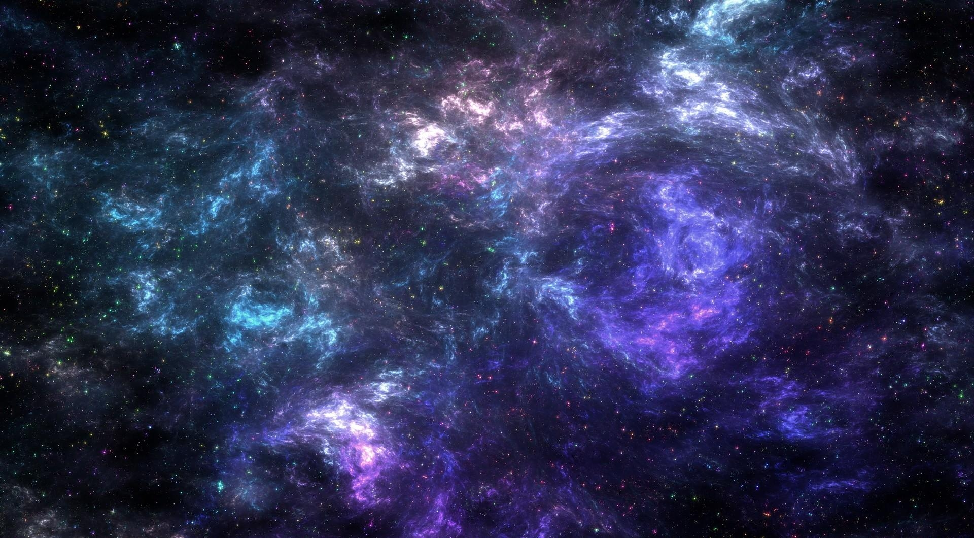 Wallpaper Galaxy Stars Nebula Atmosphere Universe