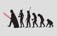 Wallpaper : illustration, Star Wars, silhouette, science ...