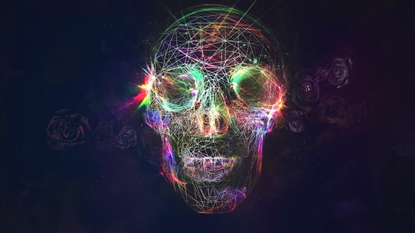 Wallpaper Illustration Abstract Skull Bright Light
