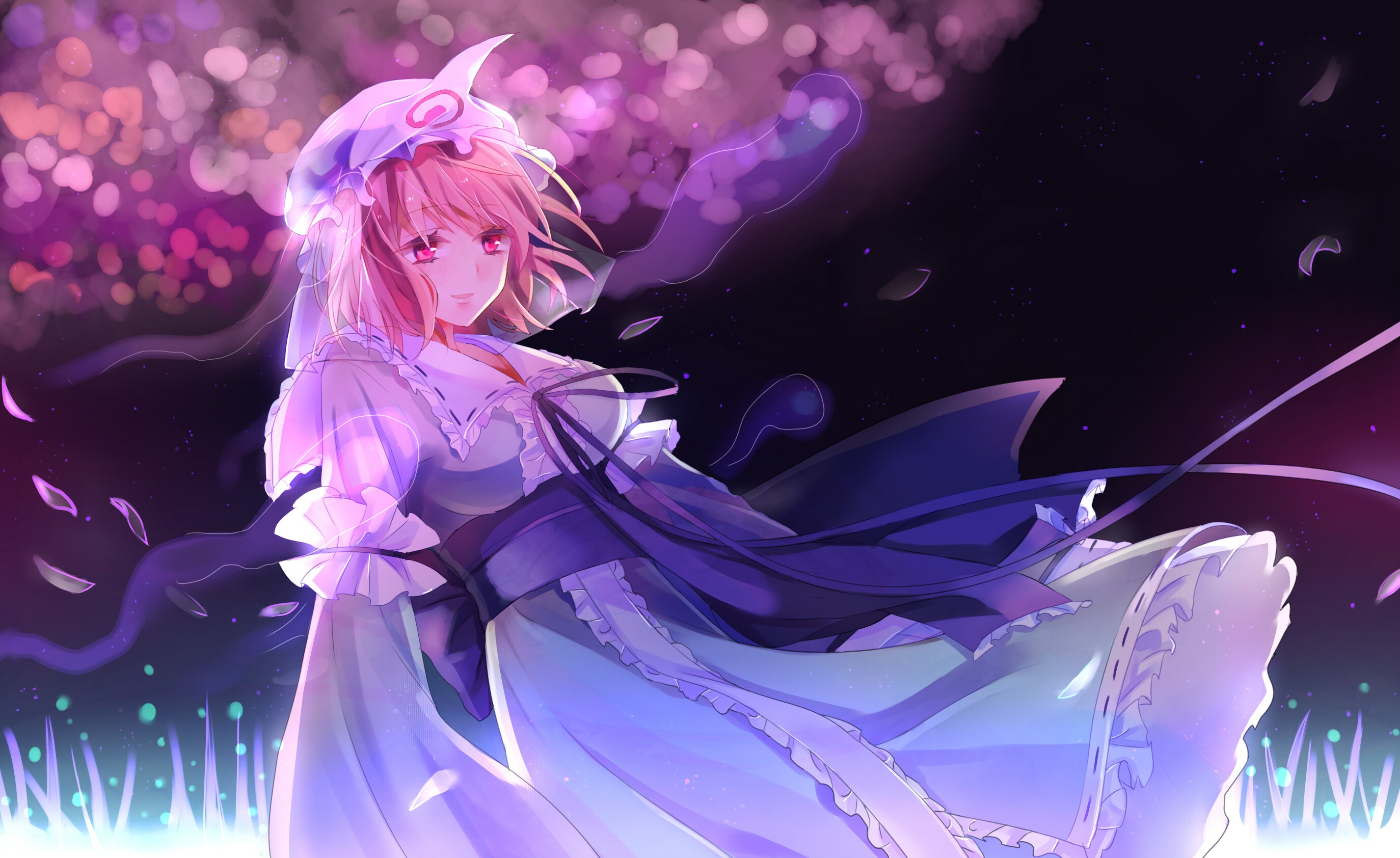 Anime Piano Girl Wallpaper Wallpaper Illustration Anime Girls Touhou Saigyouji