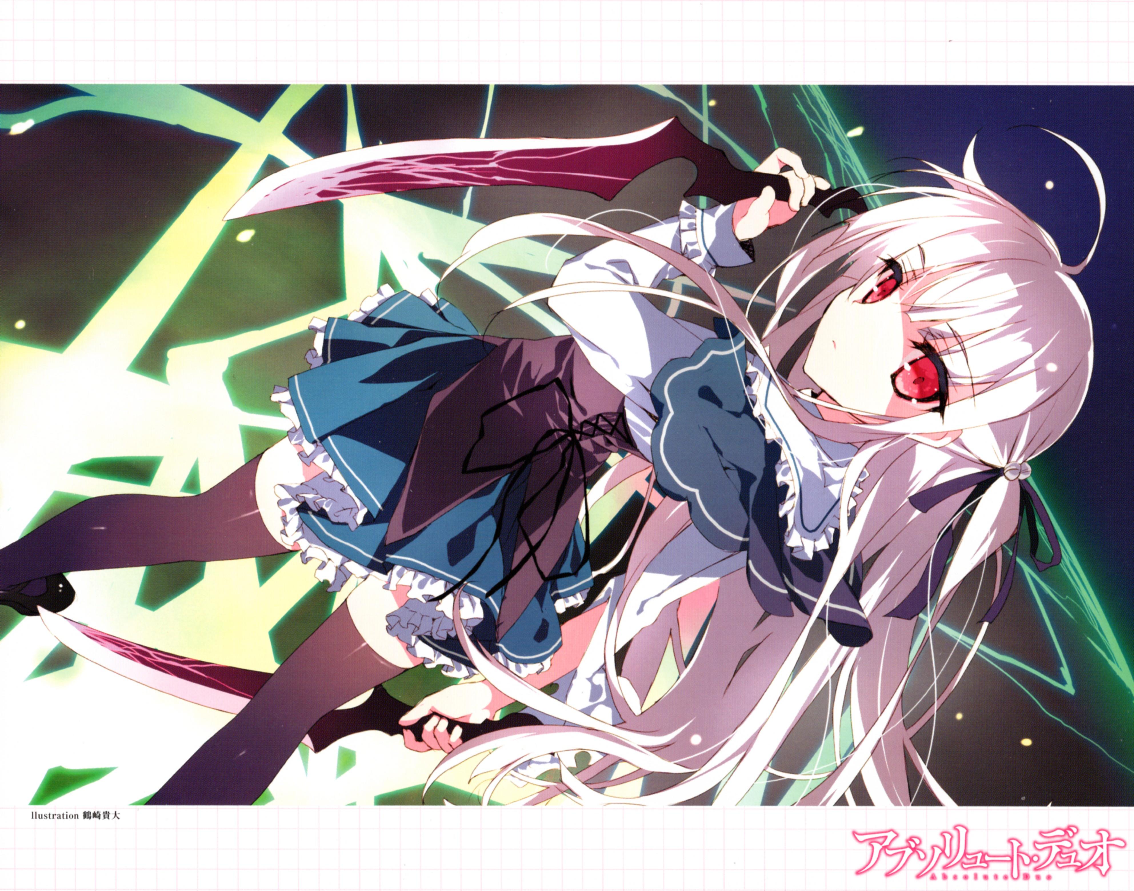 wallpaper illustration anime girls