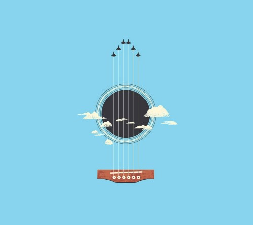 small resolution of illustration minimalism guitar musical instrument logo cartoon product plucked string instruments string instrument diagram acoustic guitar