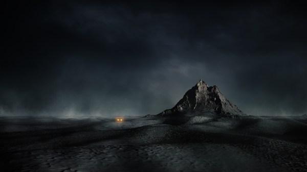 Dark Mountain Landscapes