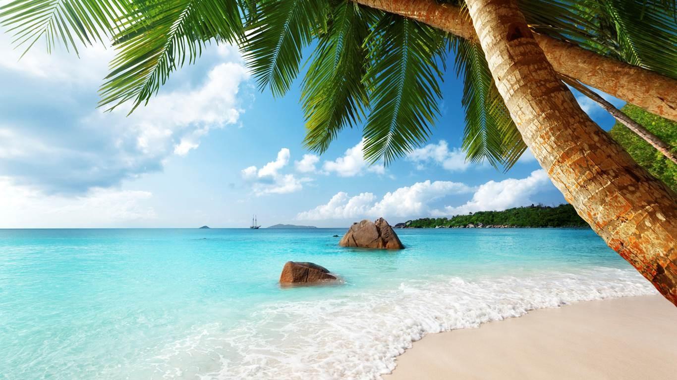 Sfondi  paesaggio mare baia sabbia nuvole spiaggia