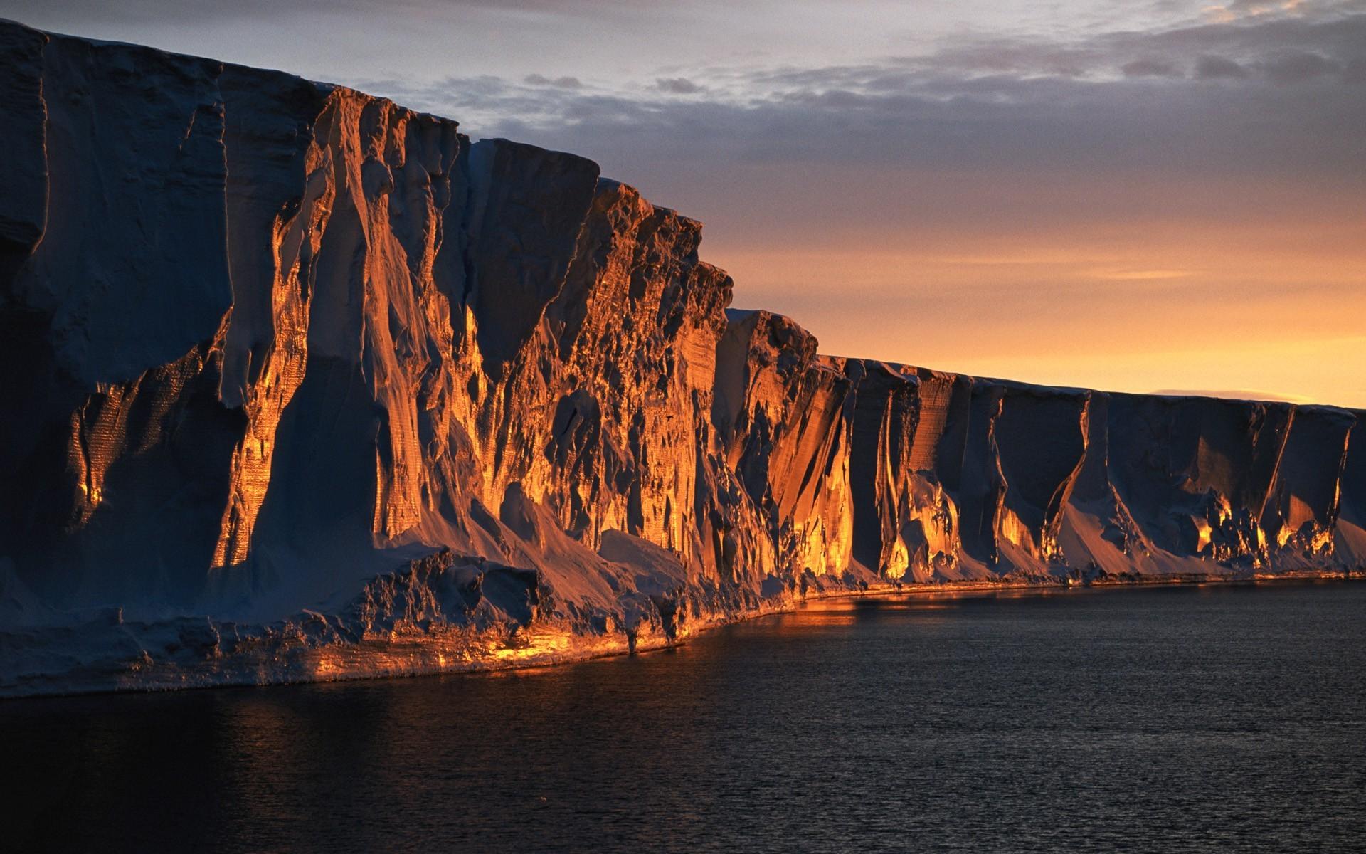 Good Evening Hd Wallpaper Wallpaper Landscape Sunset Sea Bay Night Rock