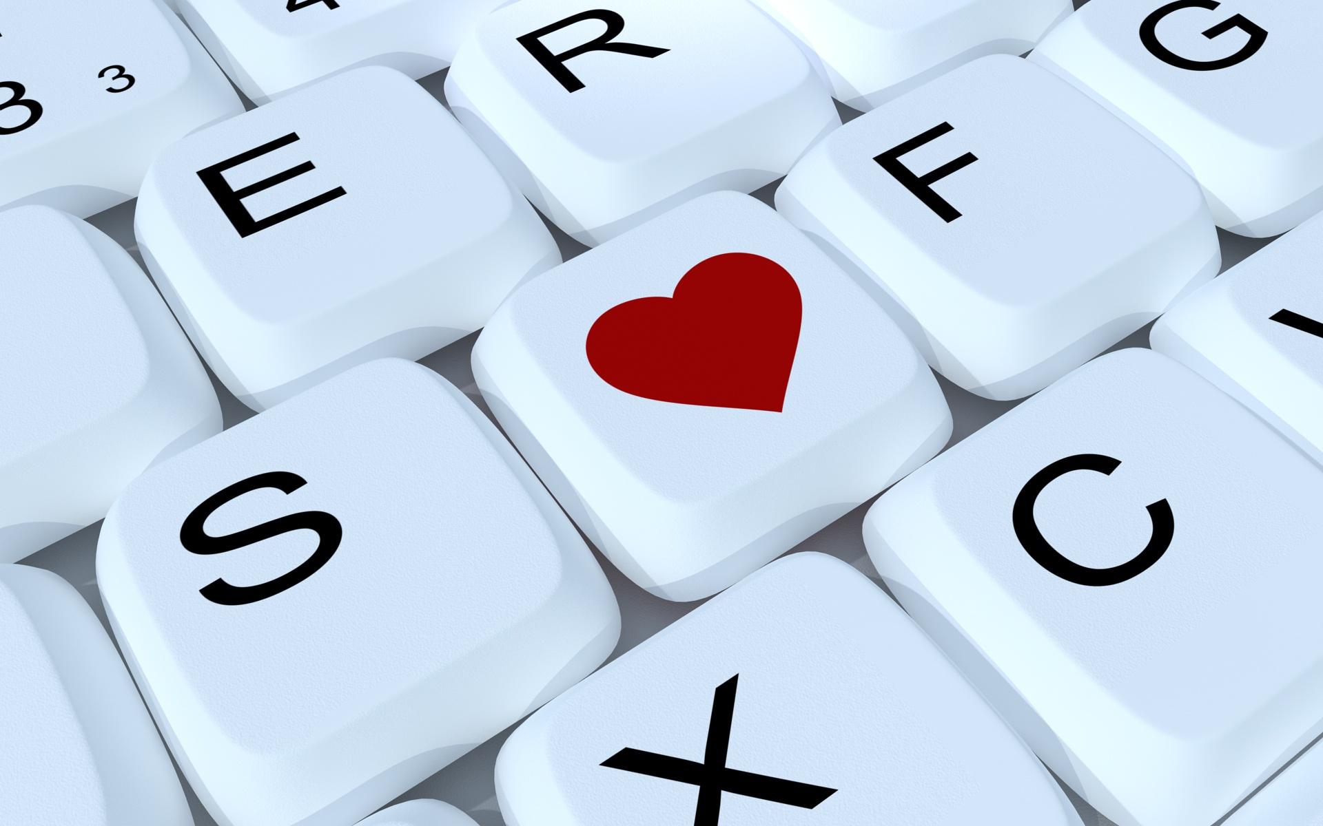 wallpaper love heart letter