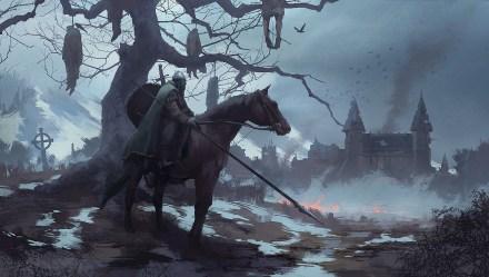 Wallpaper : medieval artwork knight castle corpse horse 1920x1090 destex 1910579 HD Wallpapers WallHere